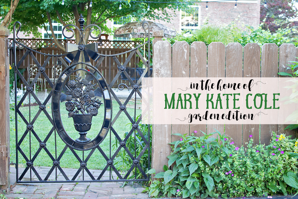 in the home of   mary kate cole