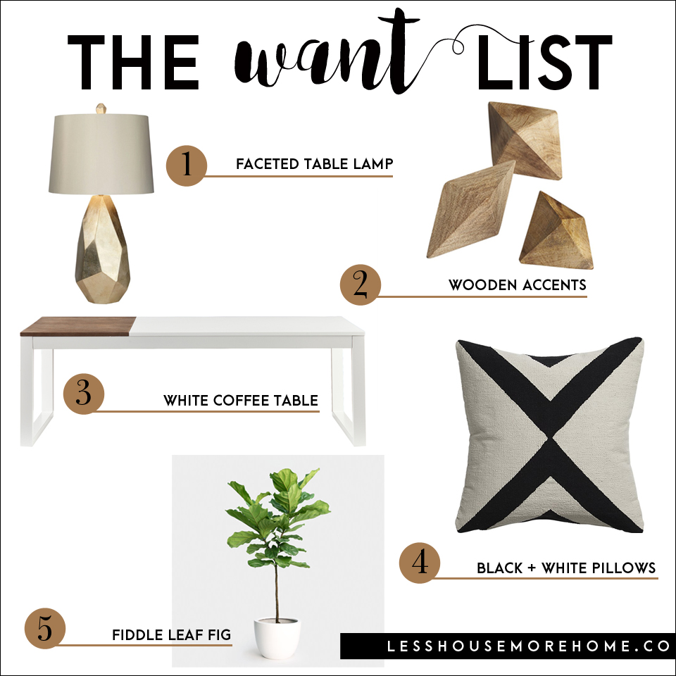 The Want List | Minimalist